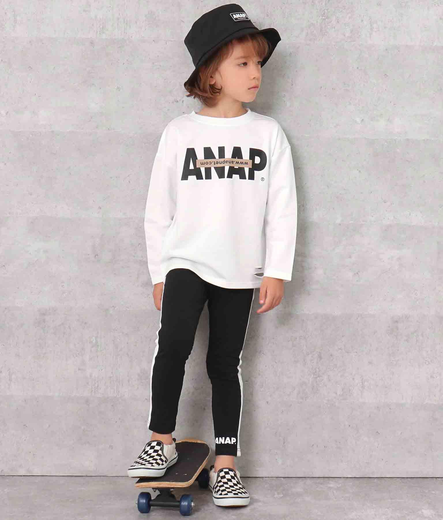 ラインレギンス(ボトムス・パンツ /レギンス) | ANAP KIDS