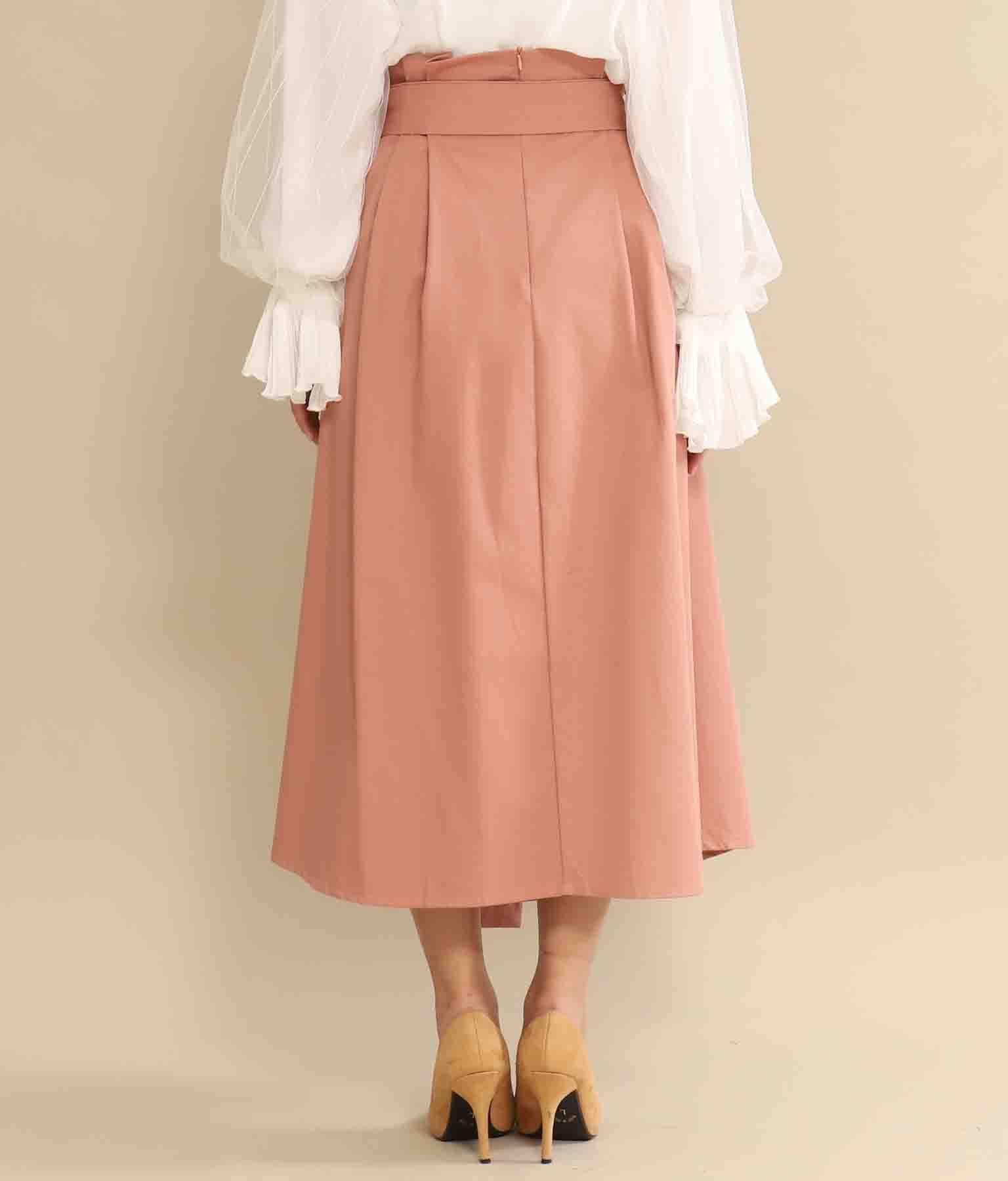 ウエストタック入りフレアスカート(ボトムス・パンツ /スカート)   CHILLE