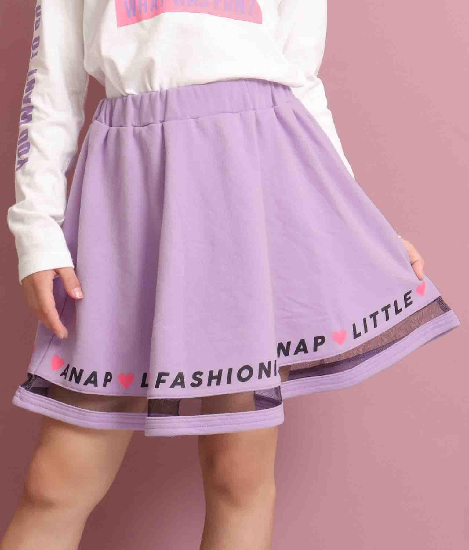 チュール切り替えスカート(ボトムス・パンツ /スカート) | ANAP KIDS
