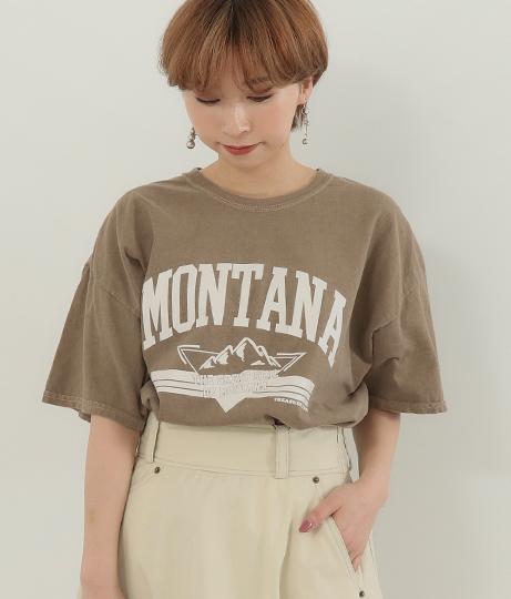 MONTANA ロゴTシャツ