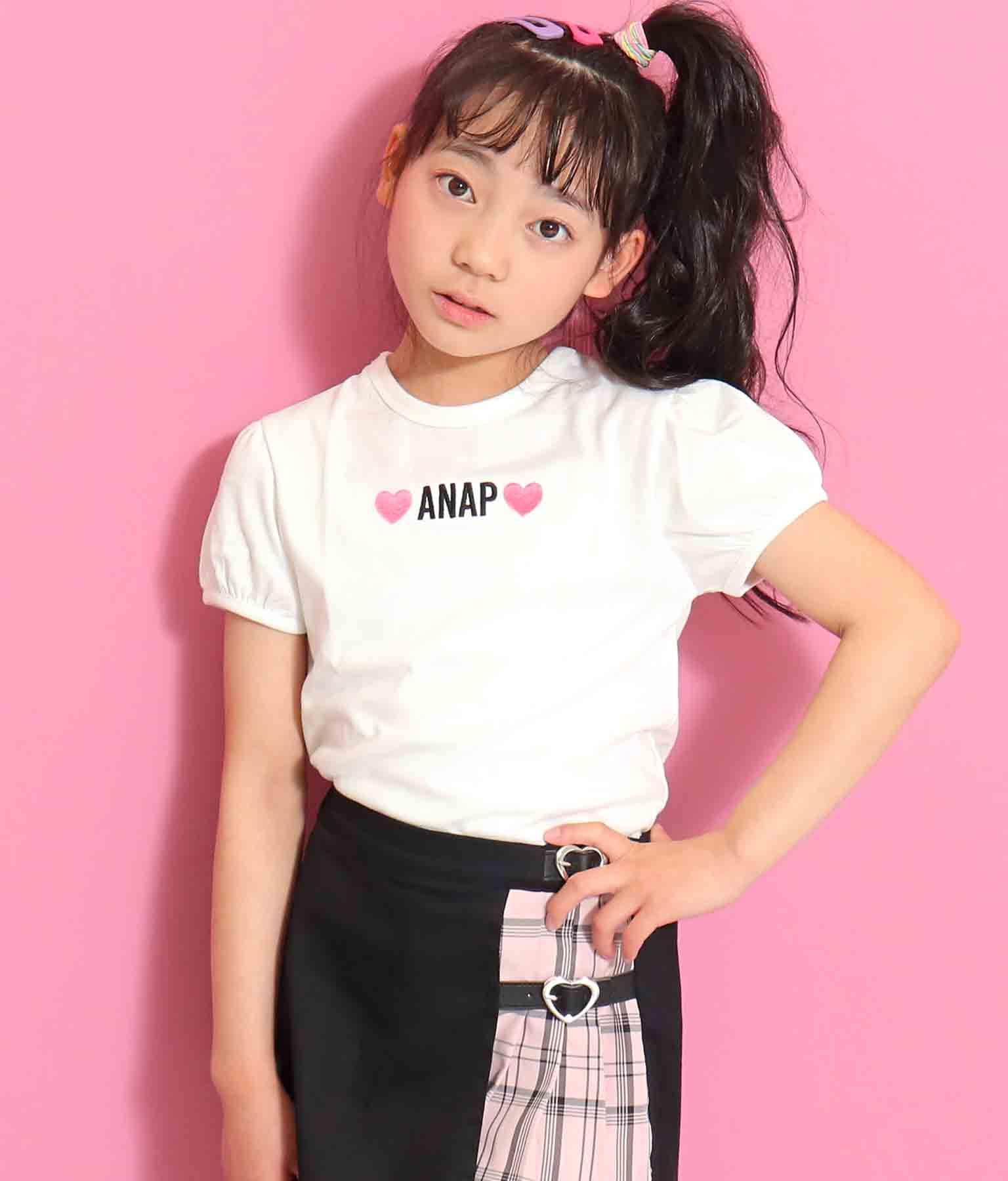 シンプルパフスリーブTシャツ | ANAP KIDS