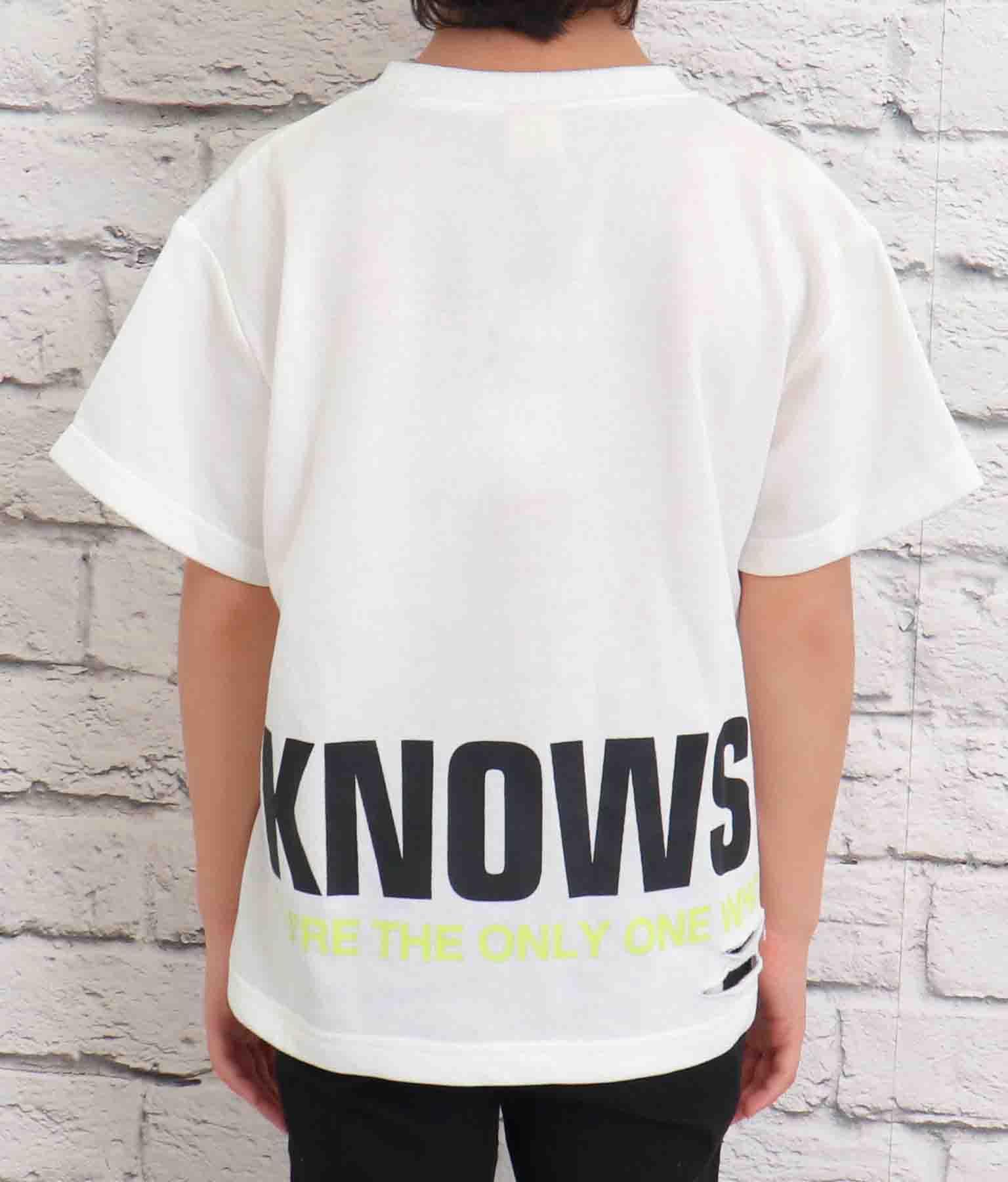 ANAPロゴダメージミニ裏毛Tシャツ(トップス/Tシャツ) | ANAP KIDS