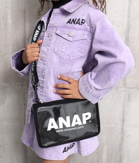 クリアサコッシュ(バッグ・鞄・小物/ショルダーバッグ) | ANAP KIDS