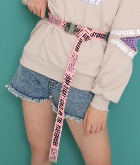 ロゴプリントガチャベルト(ファッション雑貨/ベルト) | ANAP GiRL