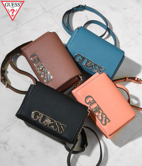 GUESS UPTOWN CHIC MINI XBODY FLAP