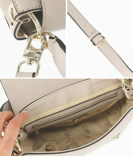 GUESS TARA TOP HANDLE FLAP(バッグ・鞄・小物/ハンドバッグ・ショルダーバッグ) | GUESS
