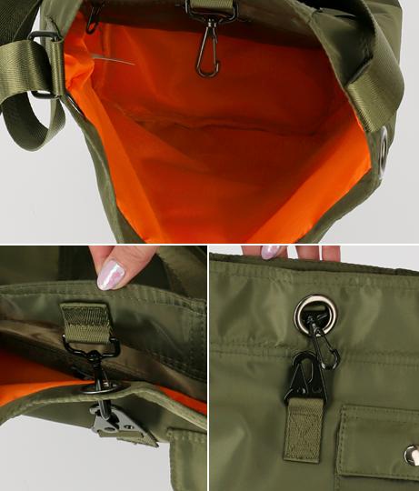 ミリタリーショルダーバッグ(バッグ・鞄・小物/ショルダーバッグ) | ANAP