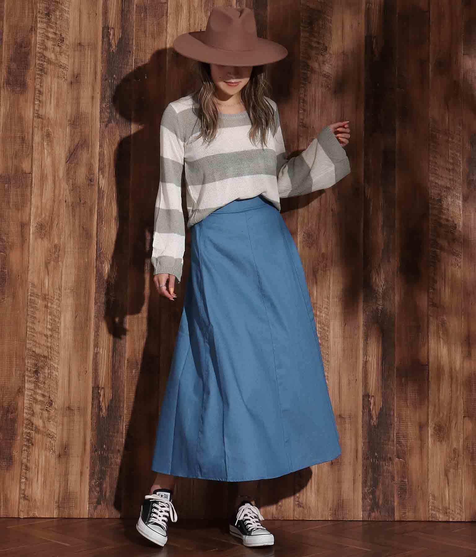デニムロングスカート(ボトムス・パンツ /ミモレ丈スカート・スカート)   anap mimpi