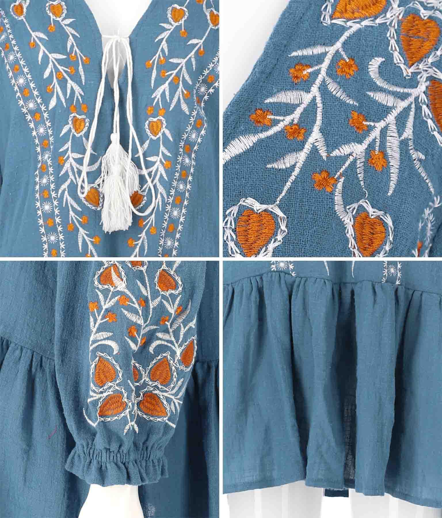 刺繍チュニックトップス(トップス/カットソー )   anap mimpi