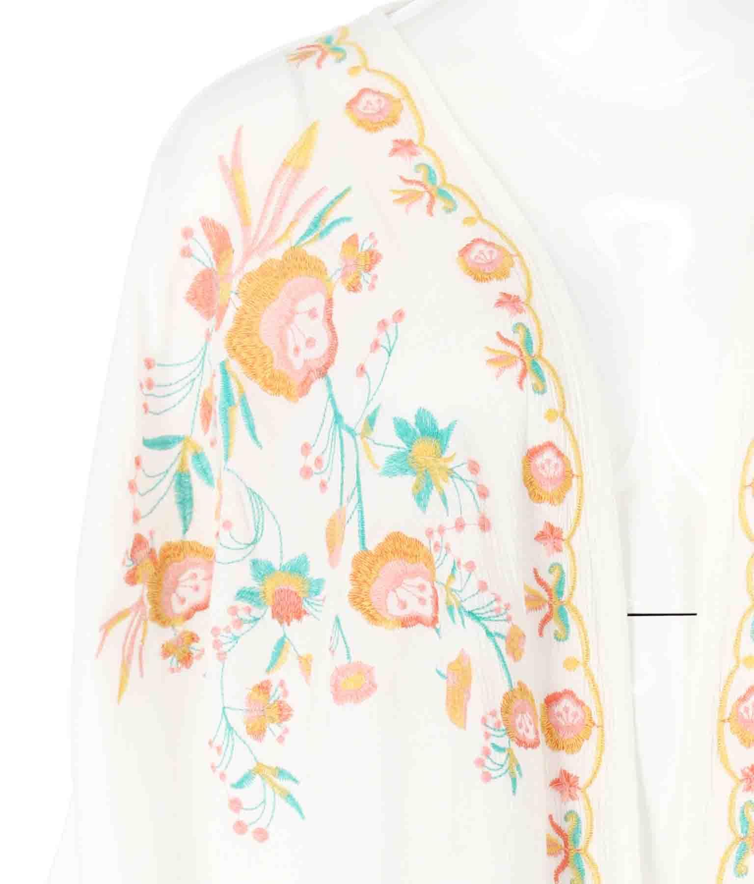 フラワー刺繍カーディガン(アウター(コート・ジャケット) /カーディガン)   anap mimpi