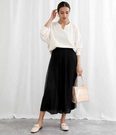 2WAYリバーシブルチュールスカート(ボトムス・パンツ /スカート) | Alluge