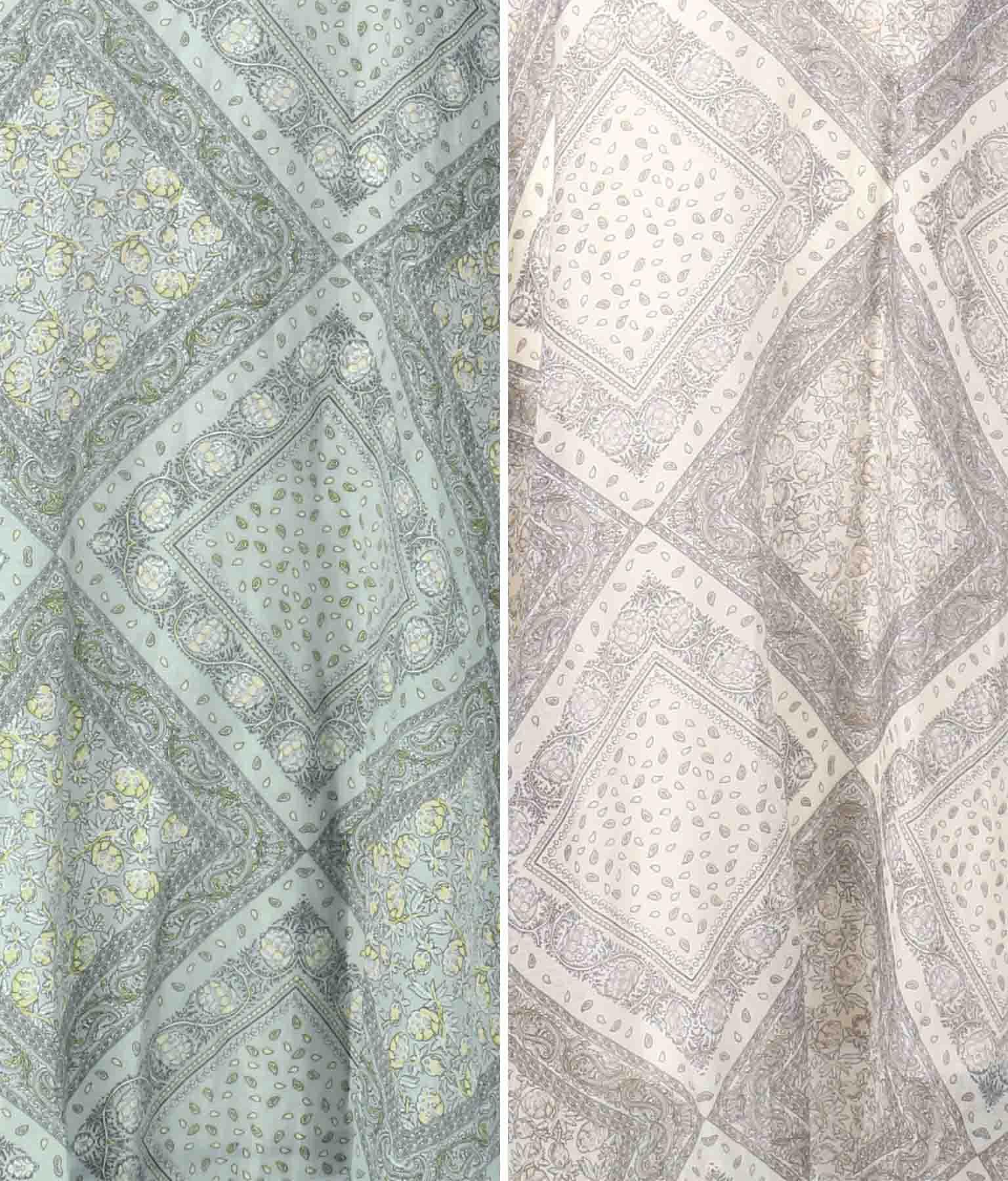 ペイズリープリントオーガンジースカート(ボトムス・パンツ /スカート)   Alluge