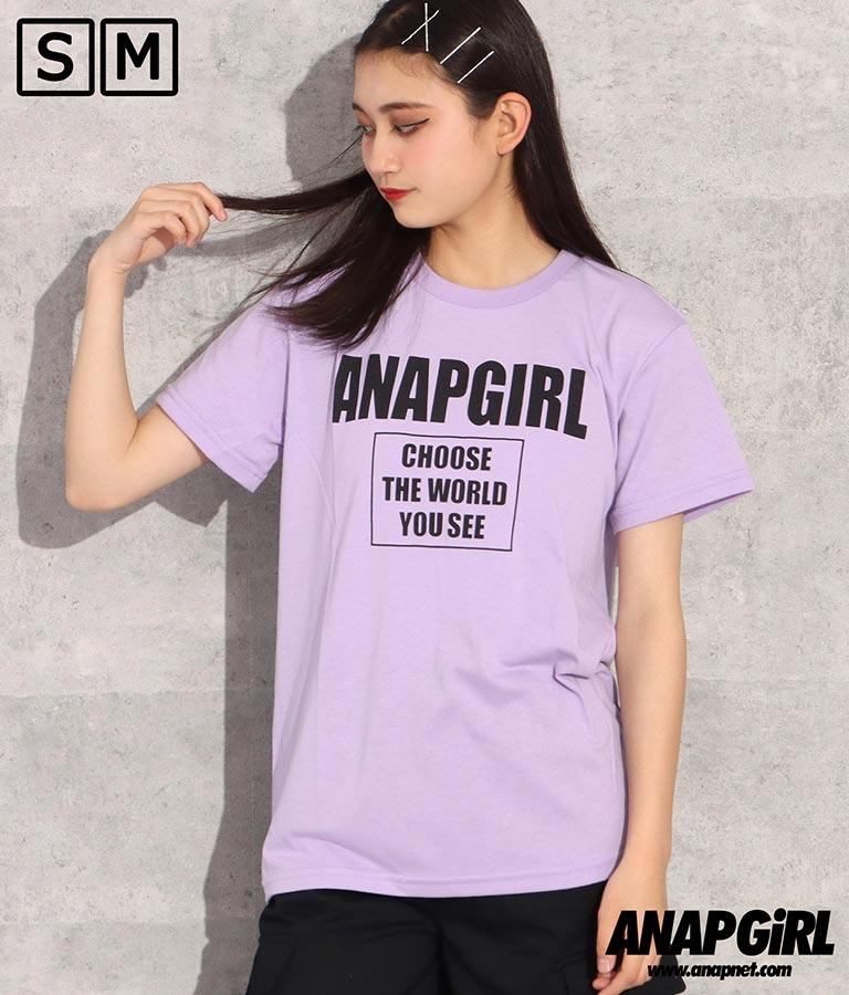ロゴボックスTシャツ