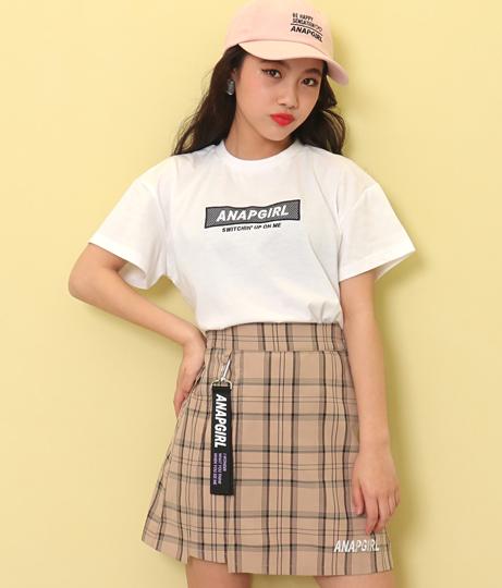 メッシュボックス刺繍Tシャツ