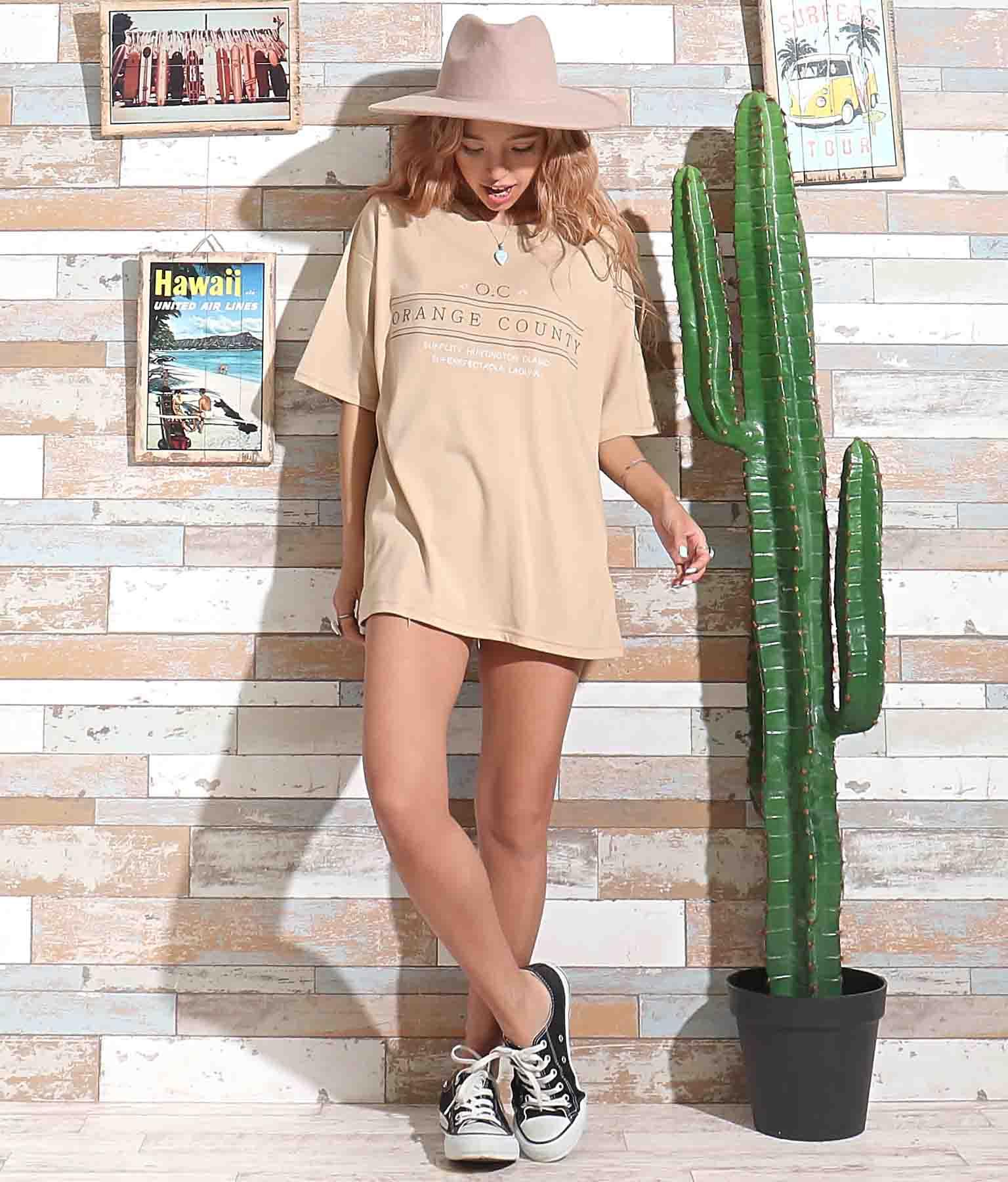 刺繍オーバーサイズTシャツ | anap mimpi