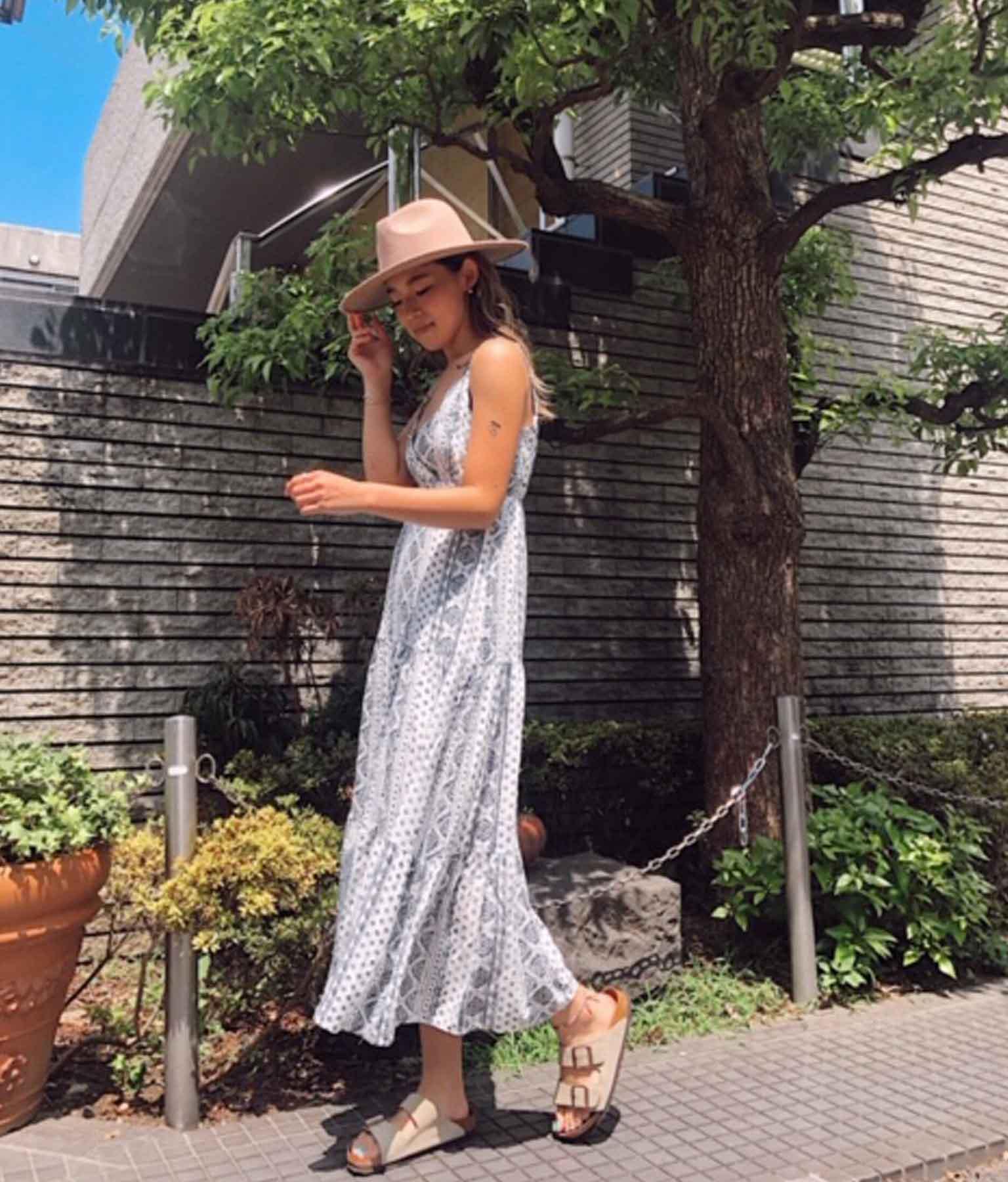 オリエンタルキャミソールワンピース(ワンピース・ドレス/ロングワンピ) | anap mimpi