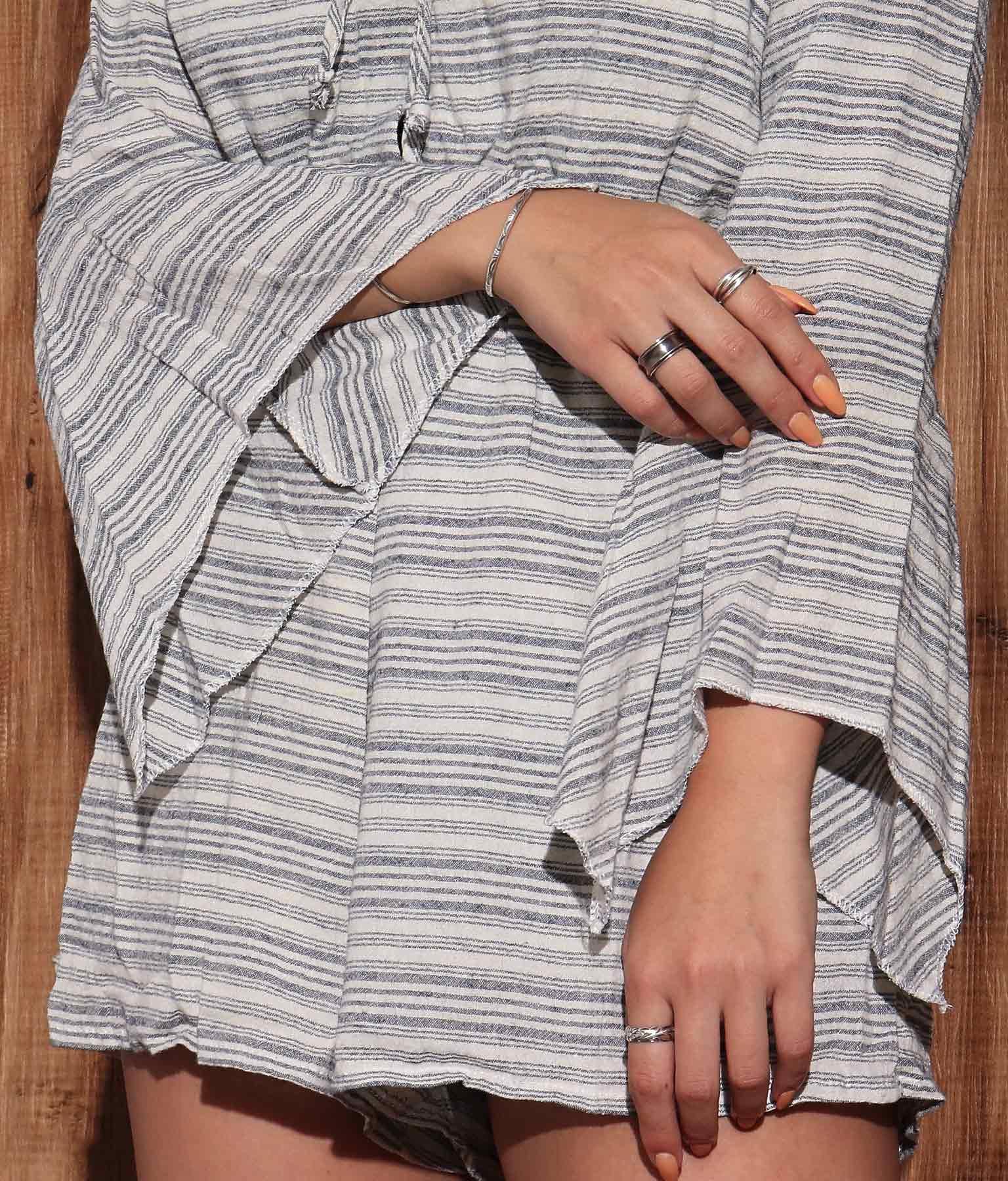 フレアスリーブロンパース(ワンピース・ドレス/サロペット/オールインワン) | anap mimpi