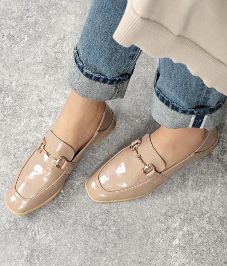 ビット付きエナメルローファー(シューズ・靴/パンプス) | Settimissimo