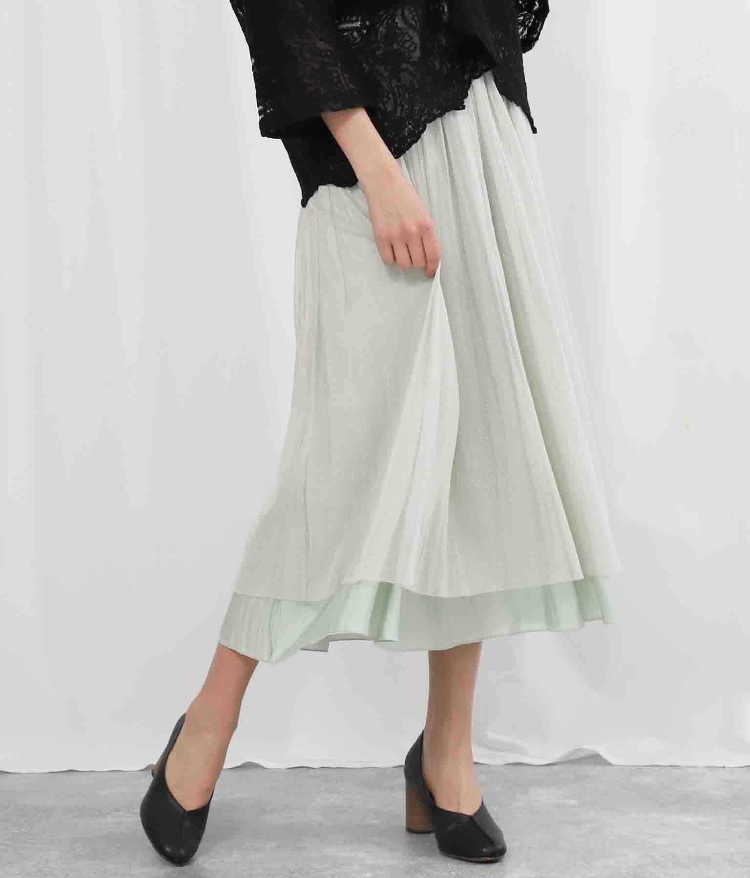オーロラ×ラメチュールリバーシブルスカート(ボトムス・パンツ /スカート) | Settimissimo