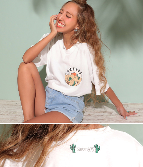 MEXICOプリントTシャツ