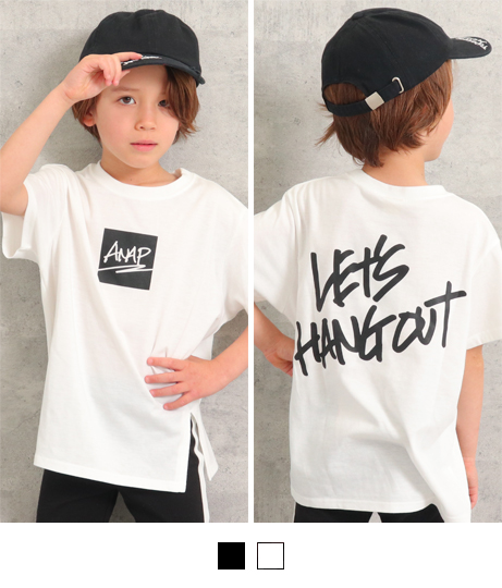 フロントスリットビッグTシャツ