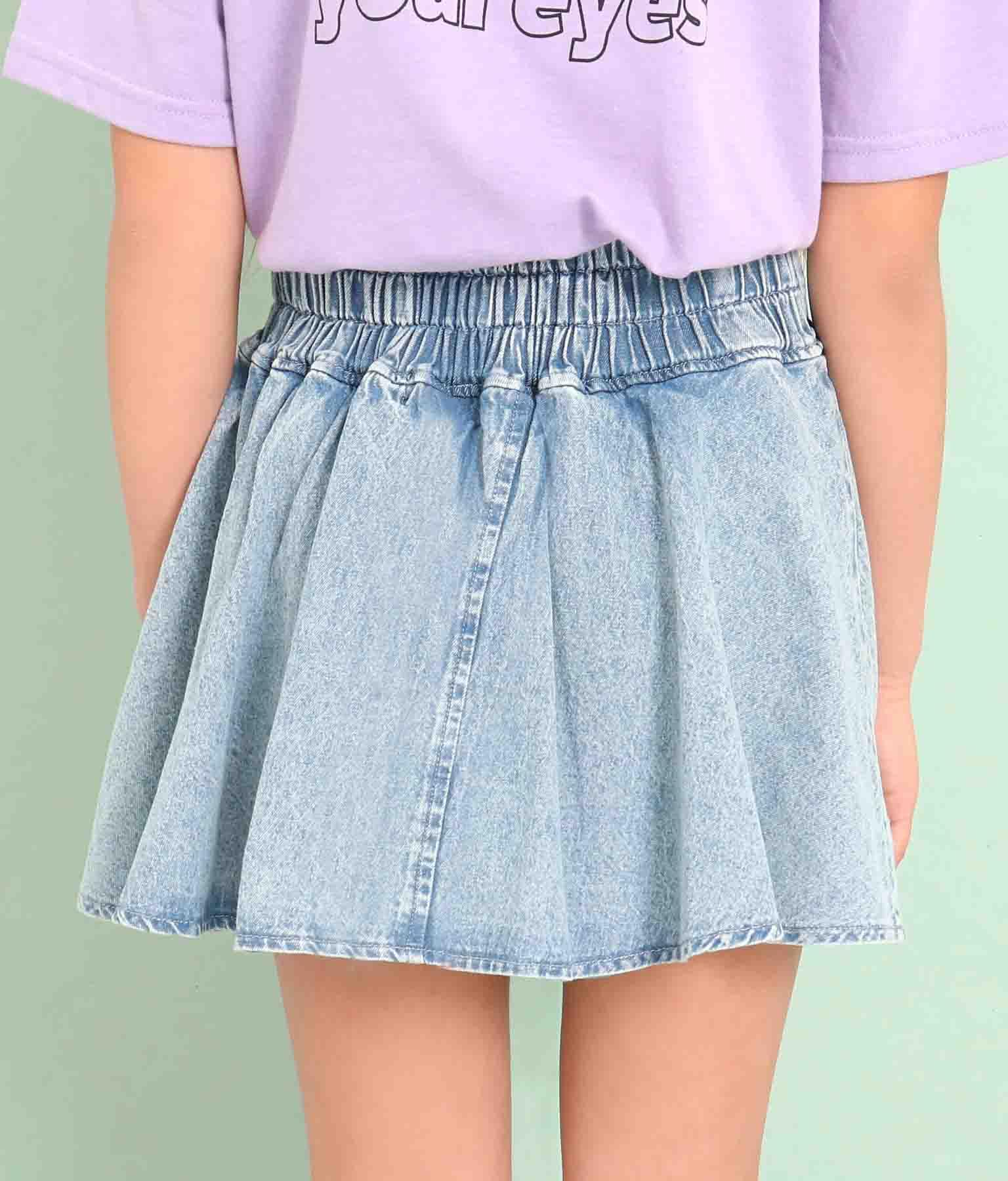 ハート開きフレアインパン付スカート(ボトムス・パンツ /スカート) | ANAP GiRL