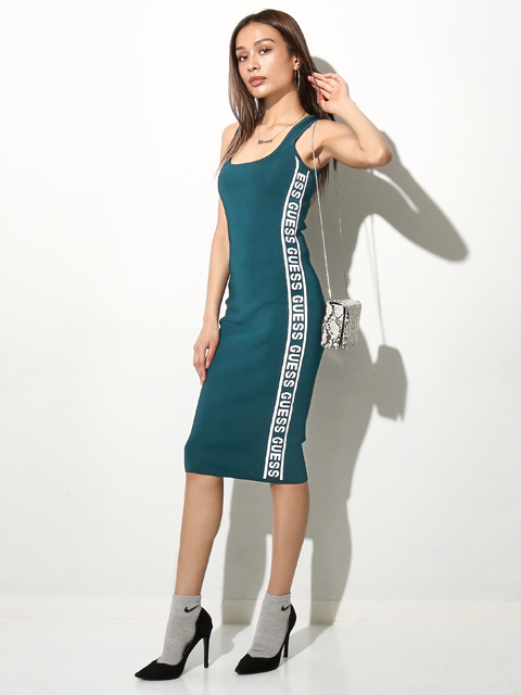 GUESS GENNY DRESS SWEATER