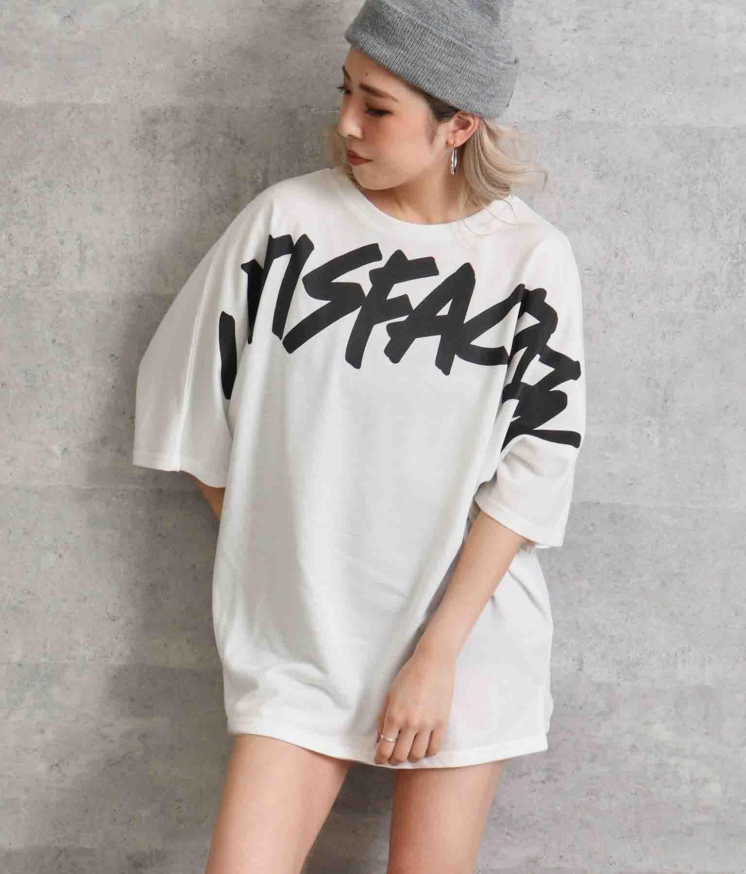 プリントオーバーサイズTシャツ