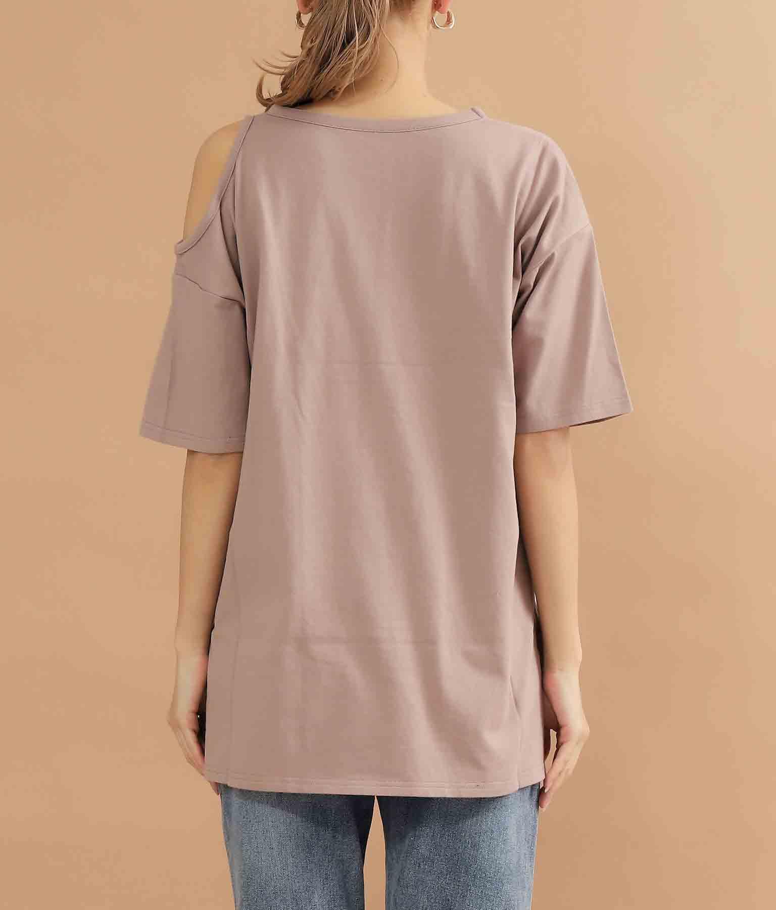 オープンショルダーTシャツ | ANAP