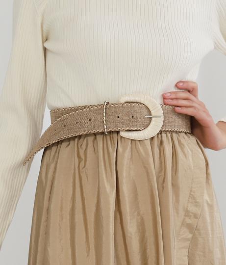 リネンライクバックルベルト(ファッション雑貨/ベルト) | Settimissimo