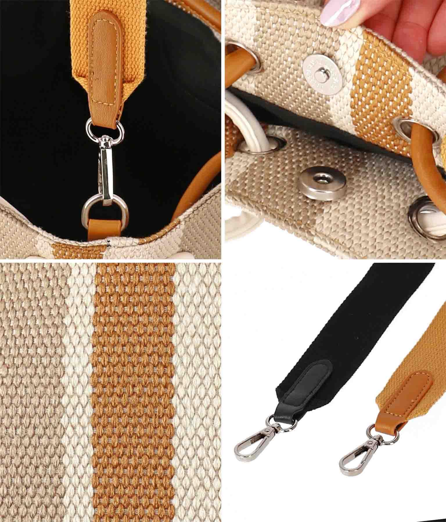 ストライプデザインショルダーバッグ(バッグ・鞄・小物/ショルダーバッグ・トートバッグ) | Alluge