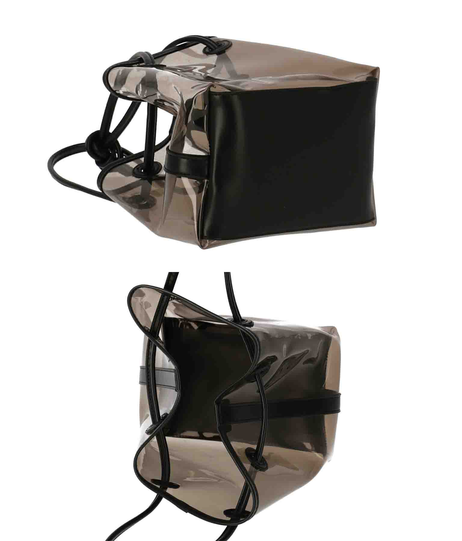 パイピングキンチャククリアバッグ(バッグ・鞄・小物/トートバッグ) | Settimissimo