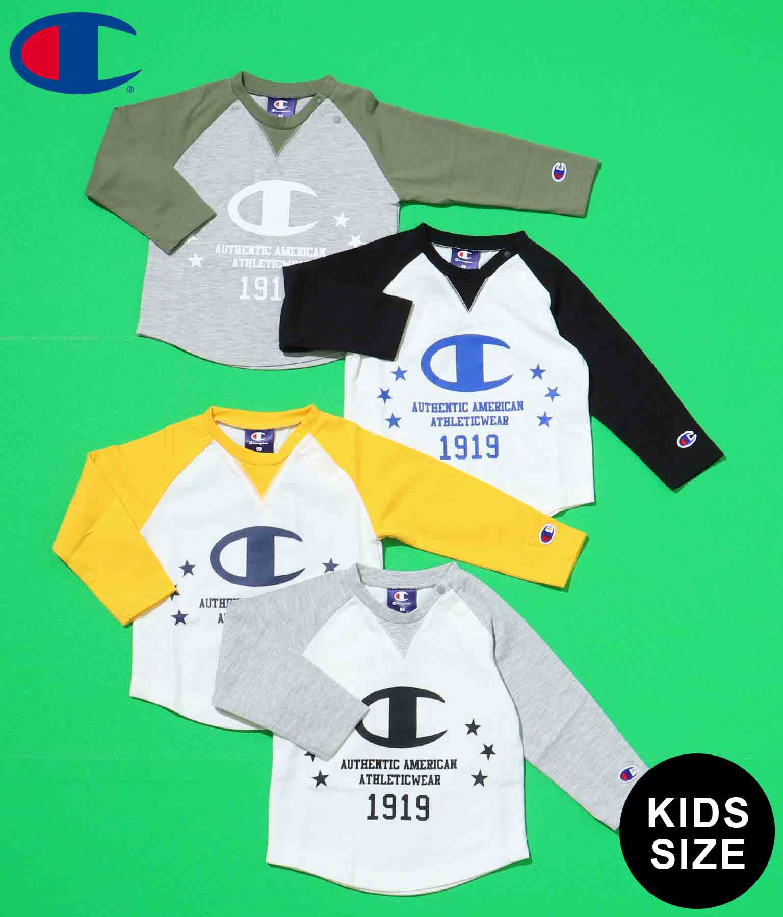 ChampionKIDS L/S TEE-SHIRT