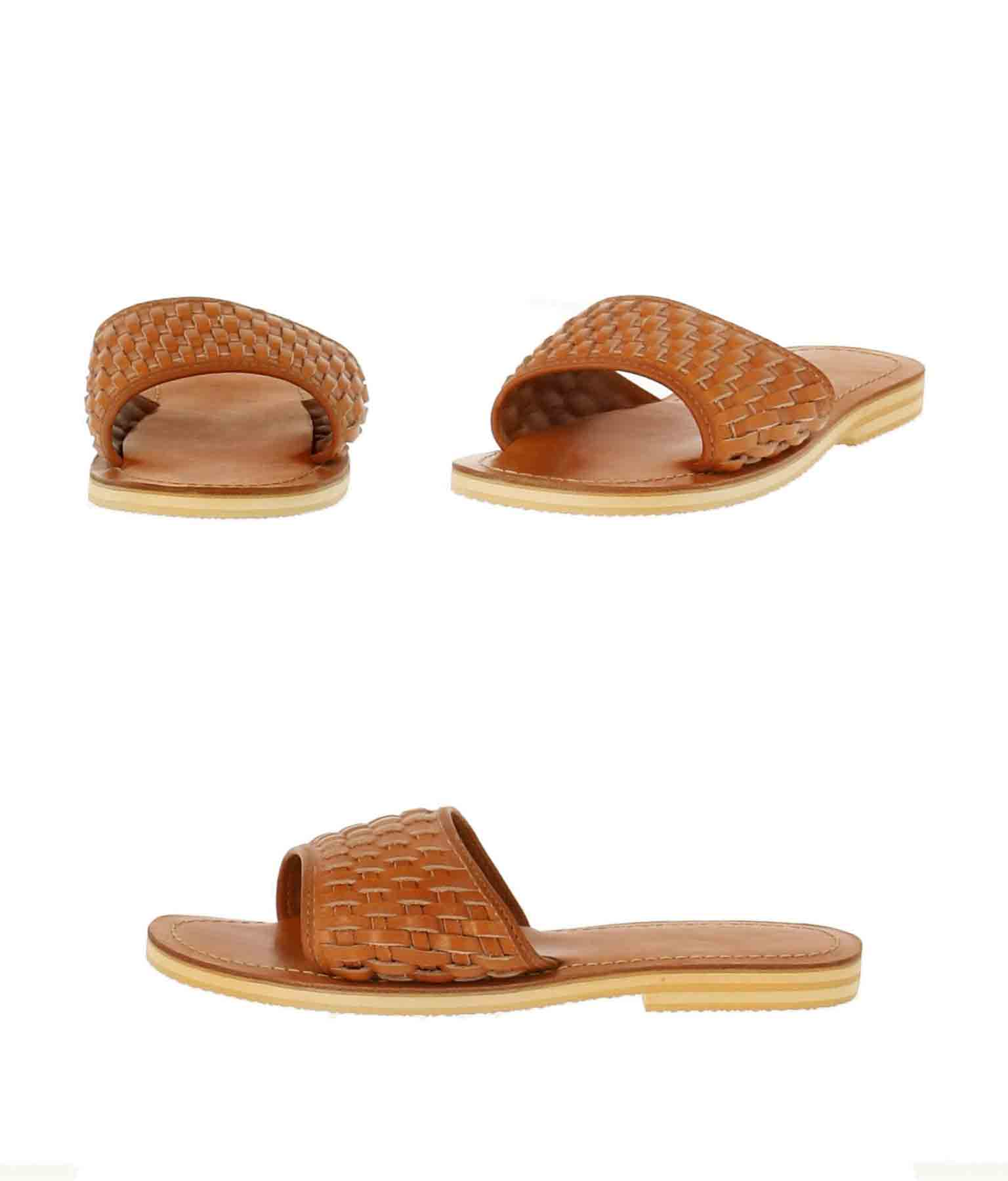 牛革編サンダル(シューズ・靴/サンダル) | anap mimpi
