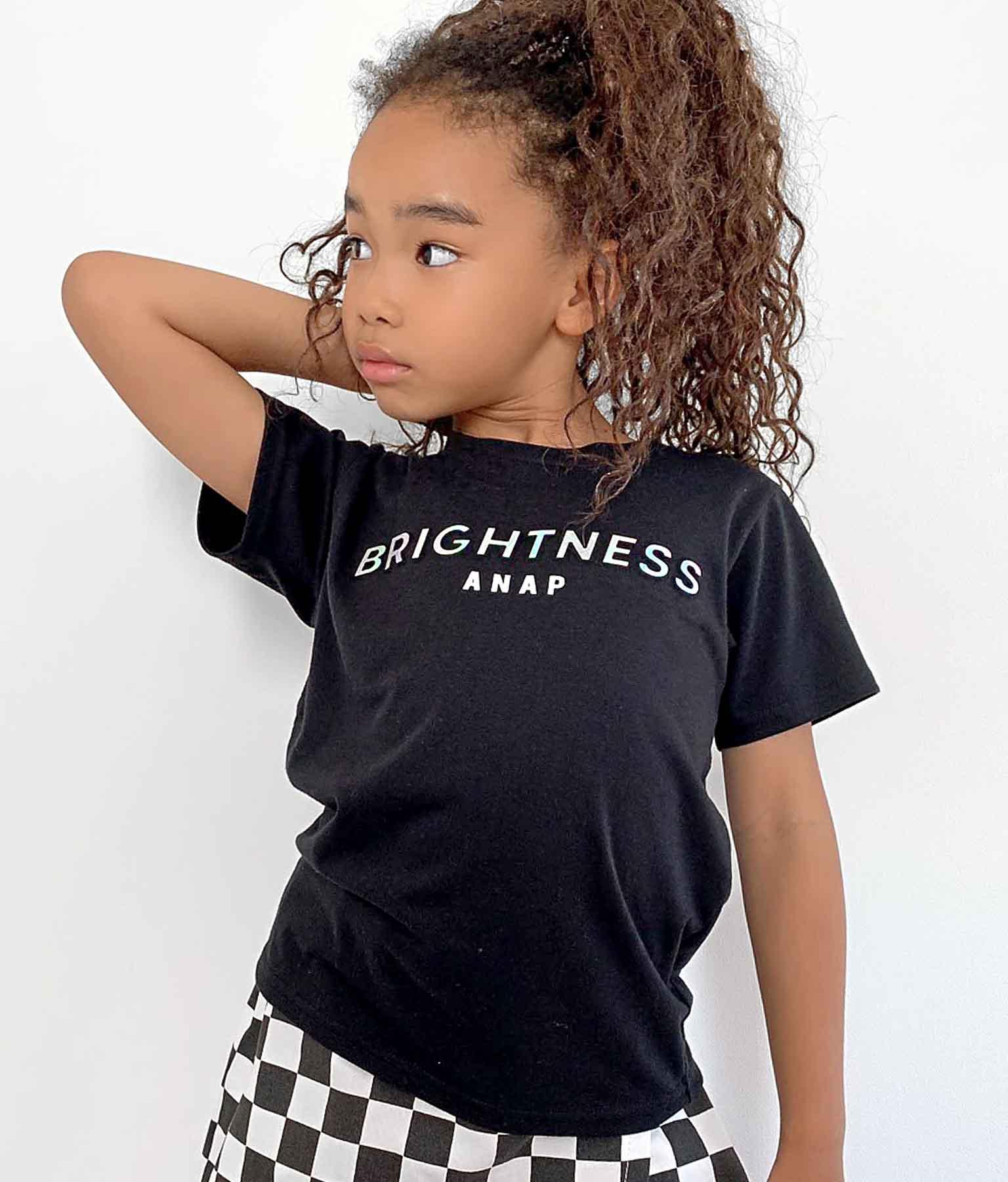 エンボス箔プリントTシャツ | ANAP KIDS