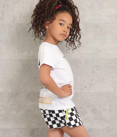 箔ボックスプリントTシャツ(トップス/Tシャツ) | ANAP KIDS