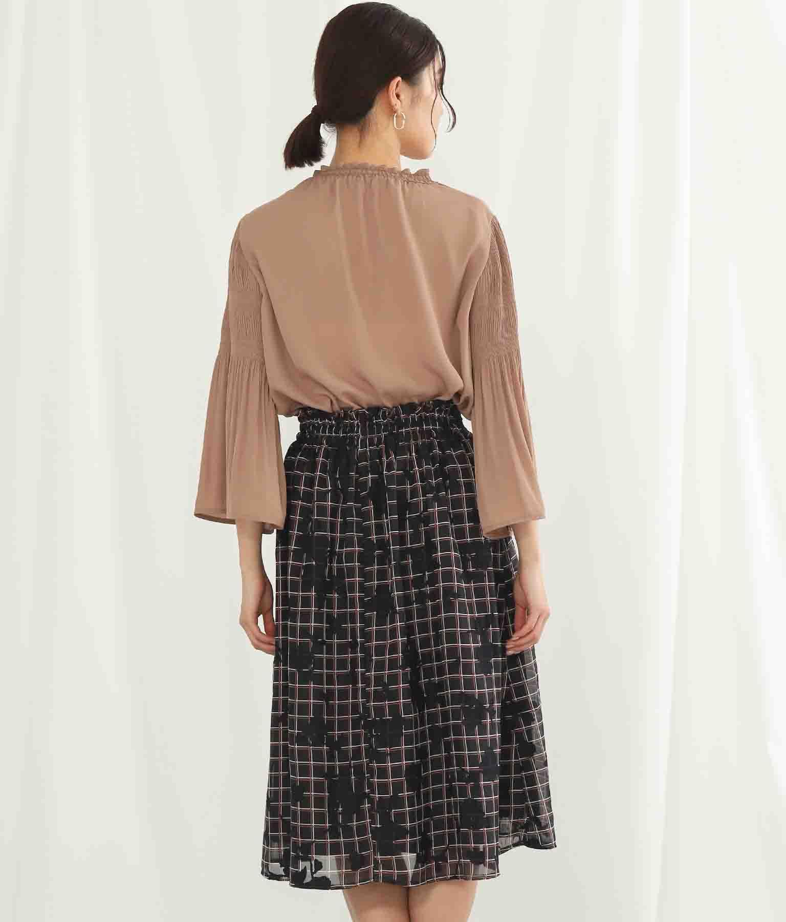 ジャガードチェックプリントスカート(ボトムス・パンツ /スカート) | Alluge
