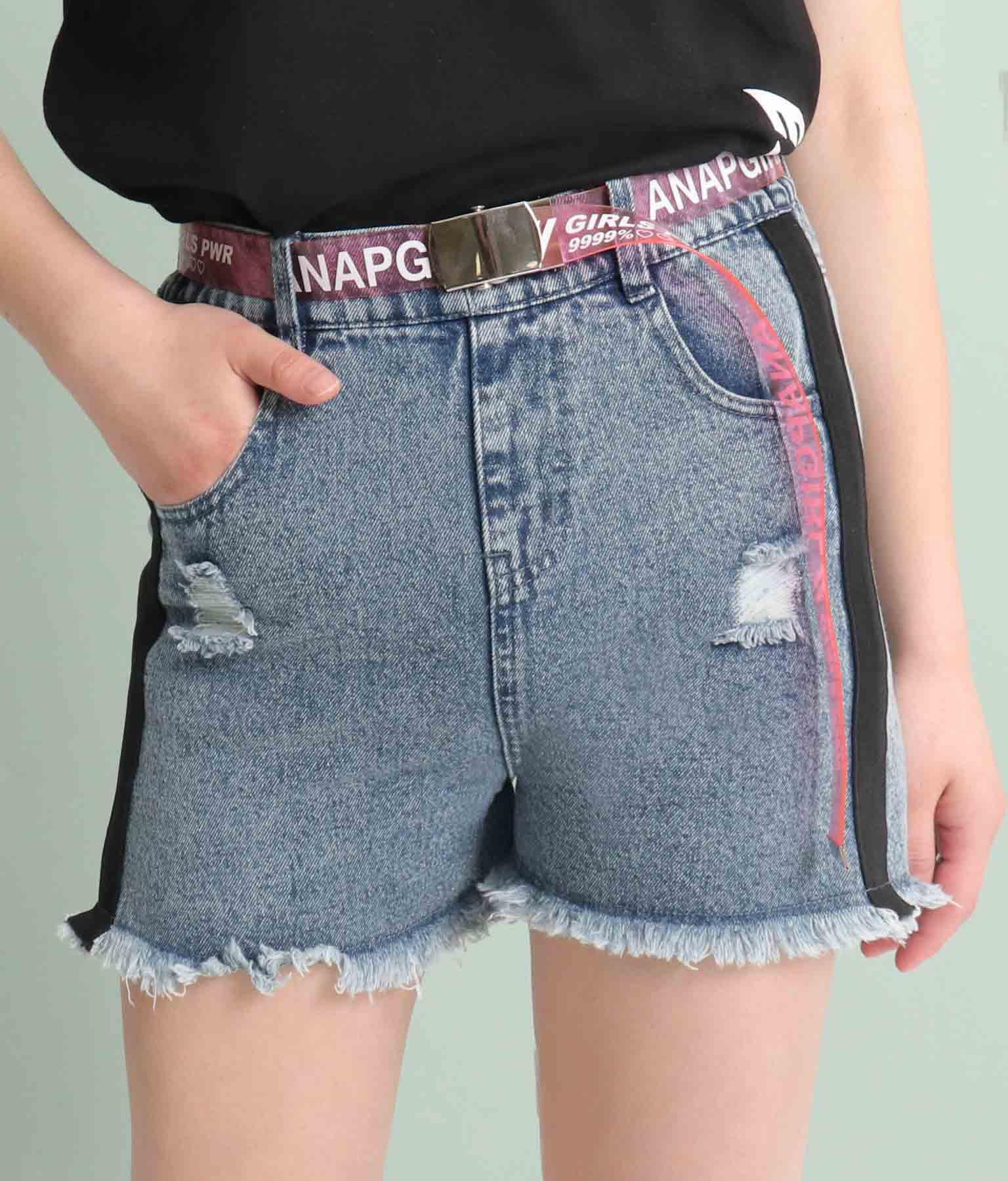 ロゴクリアガチャベルト(ファッション雑貨/ベルト) | ANAP GiRL