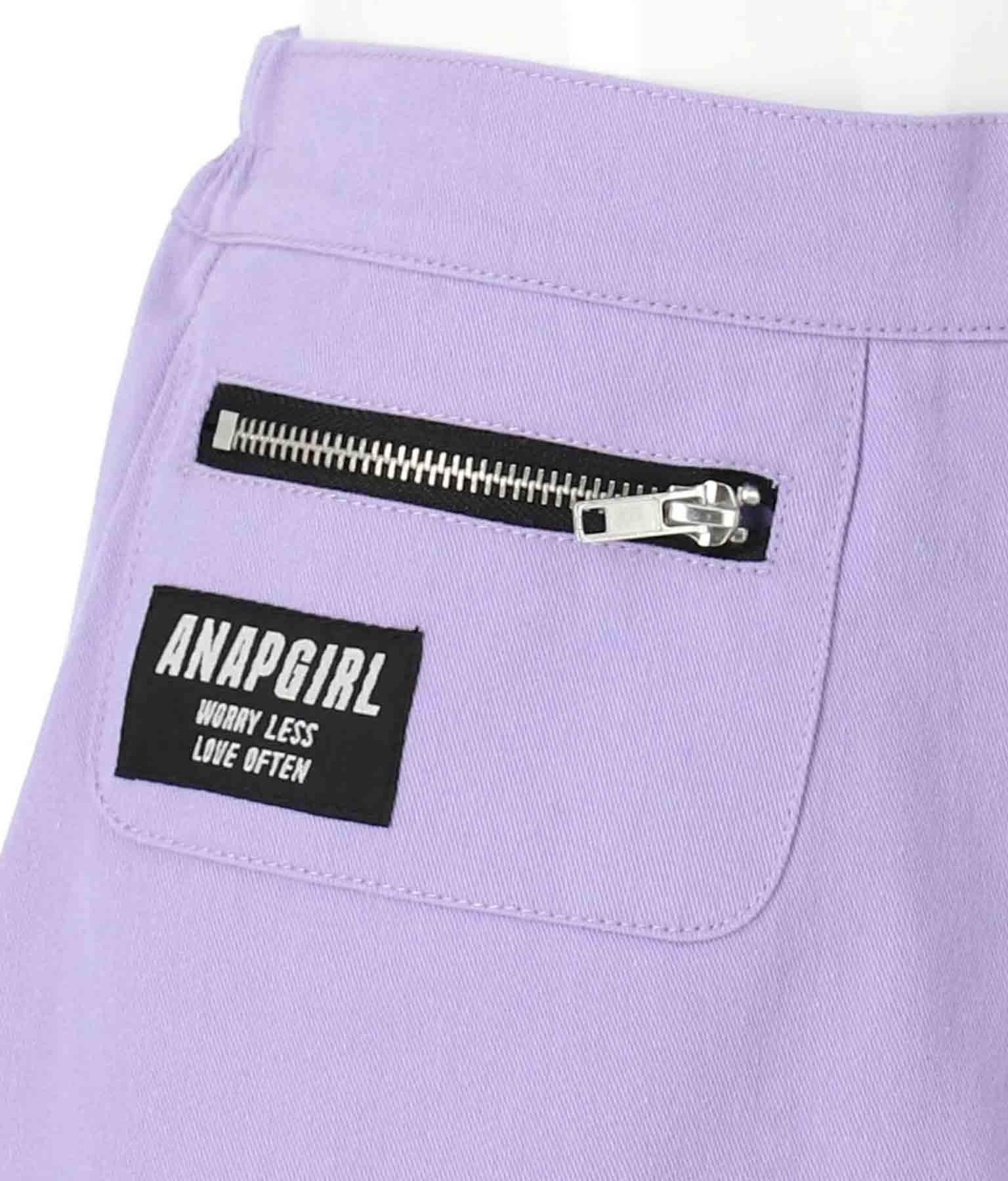 ジップポケット付スカパン(ボトムス・パンツ /ショートパンツ) | ANAP GiRL