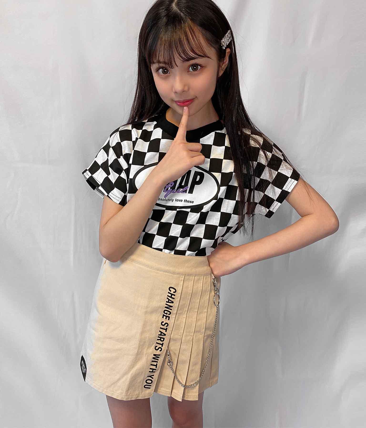 ハーフプリーツチェーン付スカート(ボトムス・パンツ /スカート) | ANAP GiRL