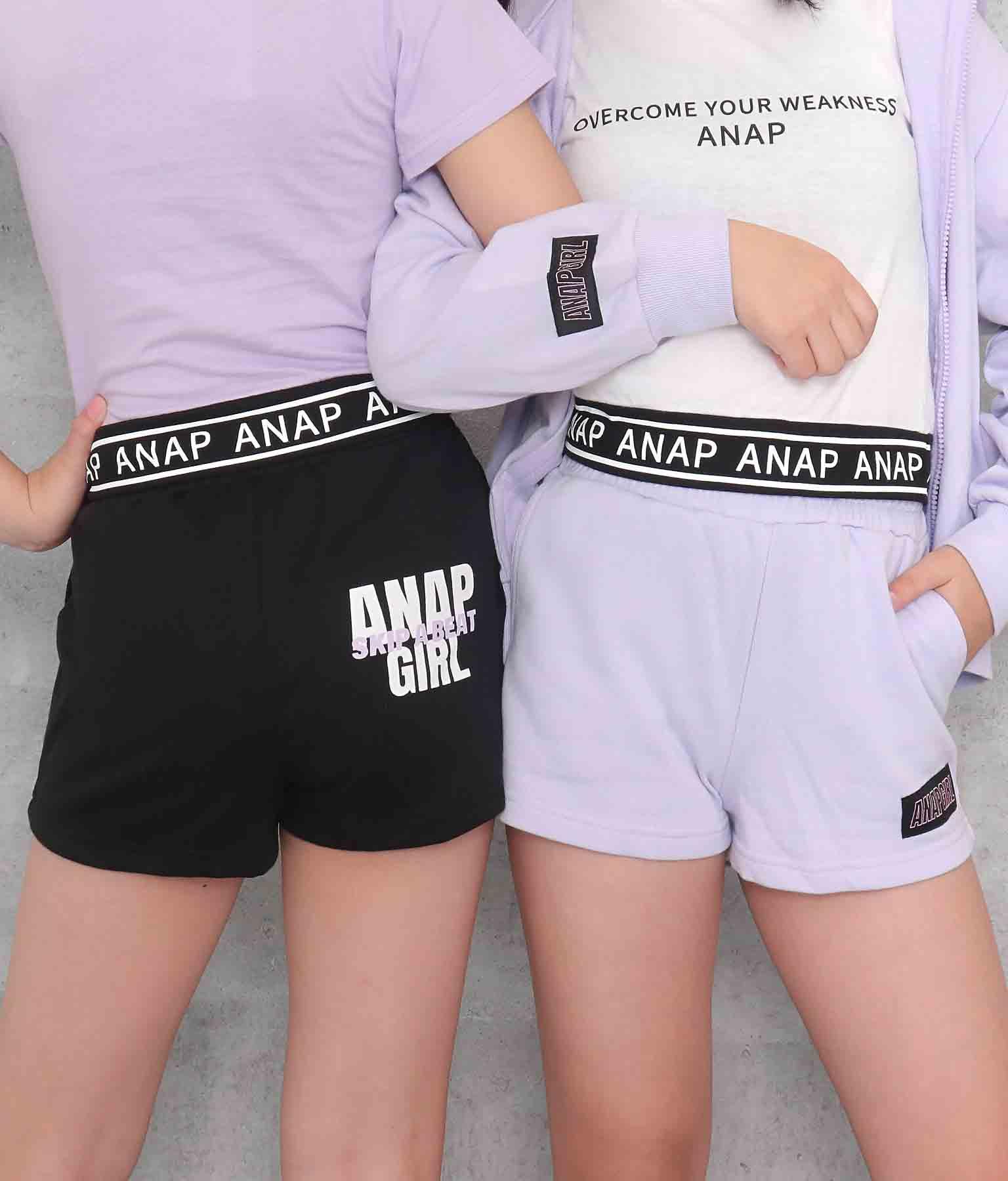 バックロゴ裏毛ショートパンツ(ボトムス・パンツ /ショートパンツ) | ANAP GiRL