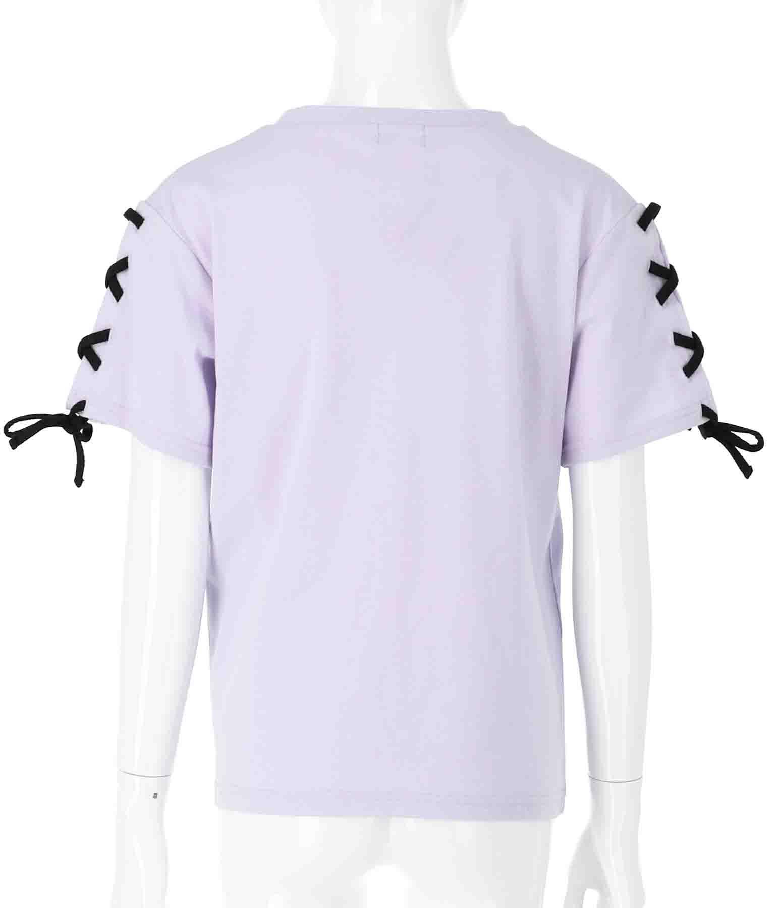 袖スピンドルラインロゴトップス(トップス/Tシャツ・カットソー ) | ANAP GiRL