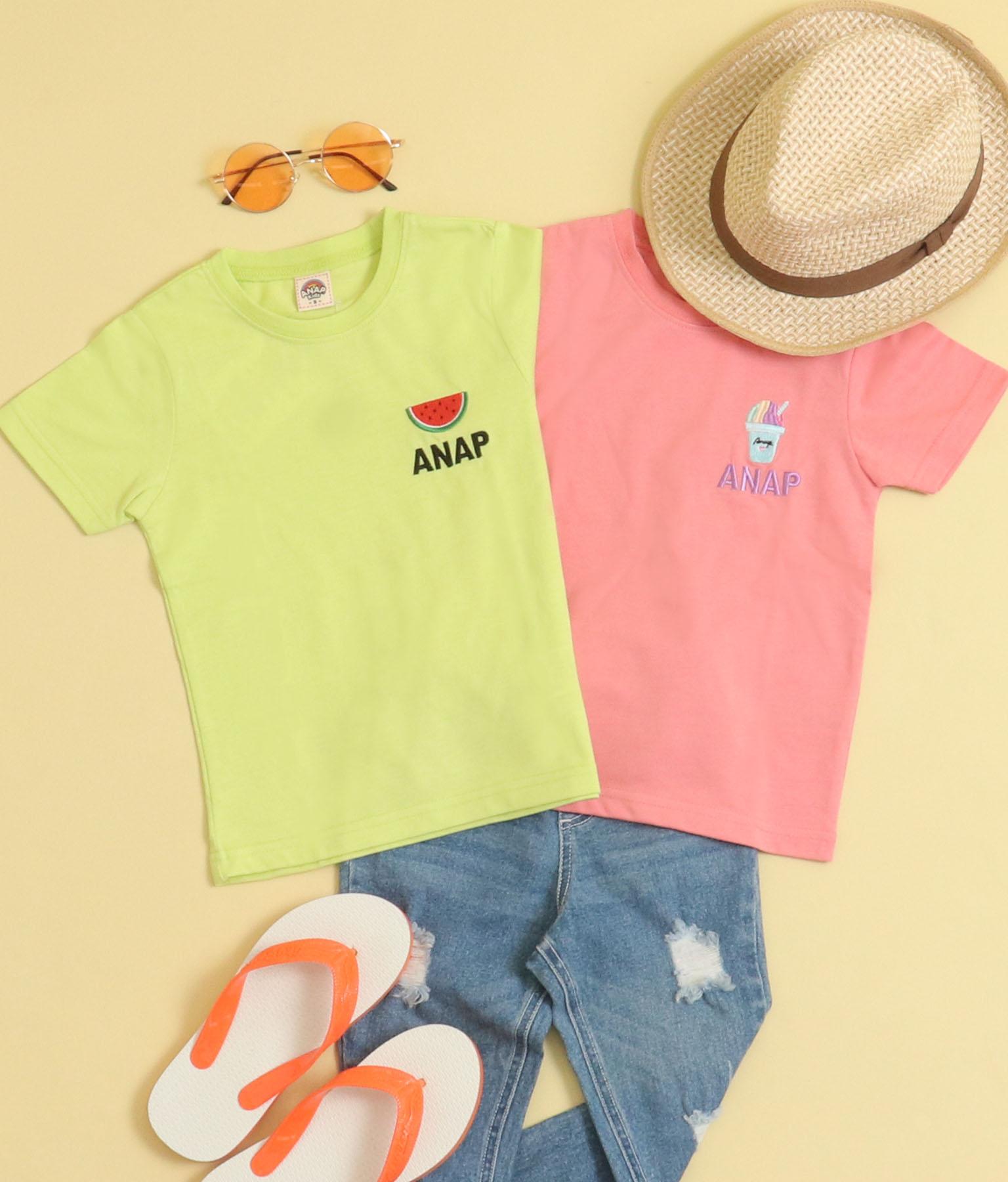 サマーワンポイントTシャツ(トップス/Tシャツ) | ANAP KIDS