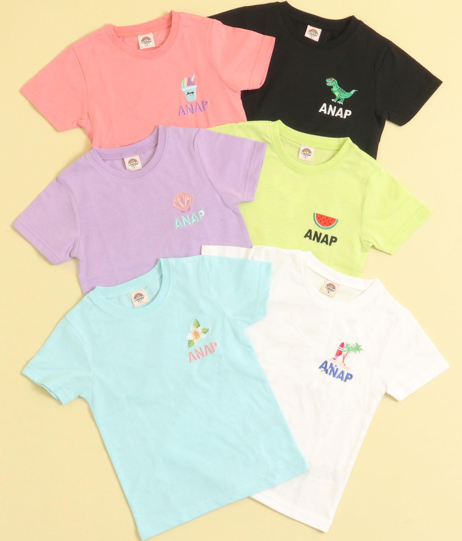 サマーワンポイントTシャツ