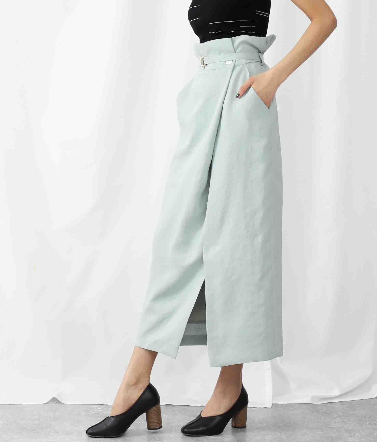 PARLMASELトリアセスラブラップコクーンスカート(ボトムス・パンツ /スカート) | Settimissimo