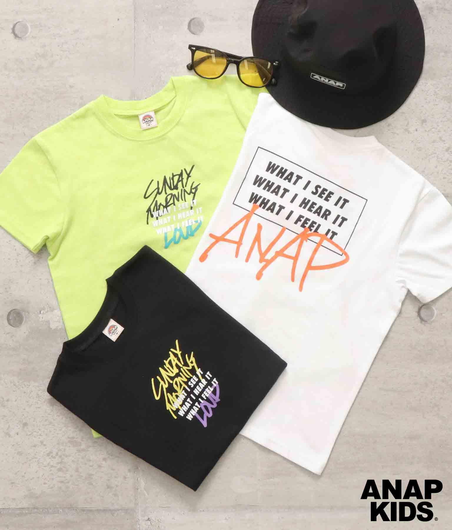 ボックスプリントTシャツ(トップス/Tシャツ)   ANAP KIDS
