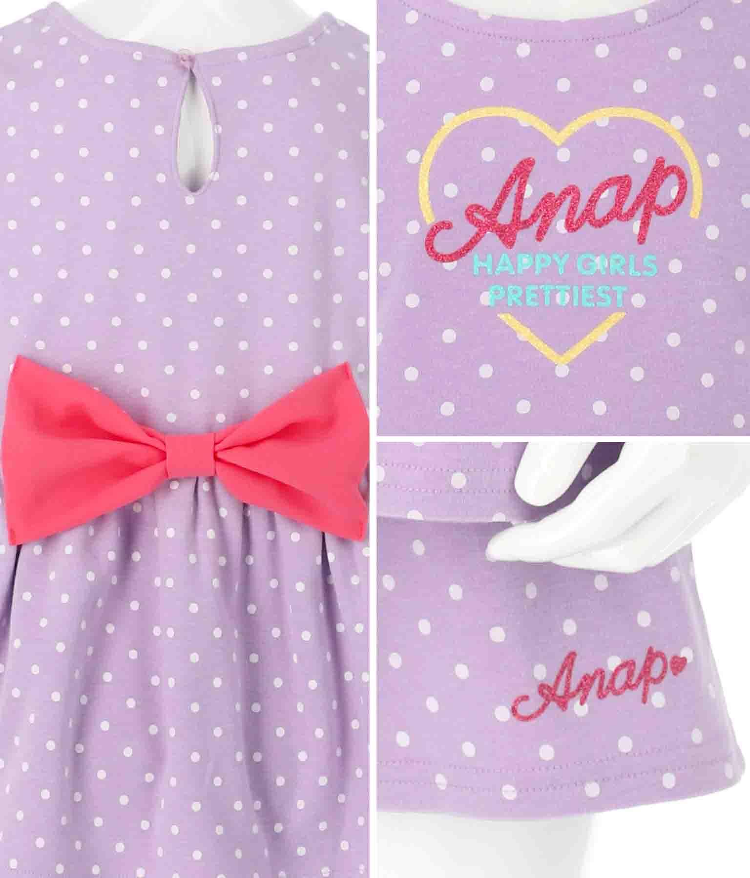 バックリボン付セットアップ(トップス/カットソー ・ショートパンツ) | ANAP KIDS