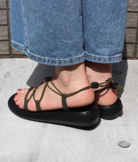 編み上げスポーツサンダル(シューズ・靴/サンダル) | Factor=