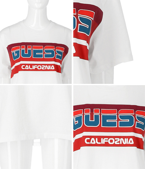 GUESS SS BSC GUESS SKI LOGO CREW TEE | GUESS