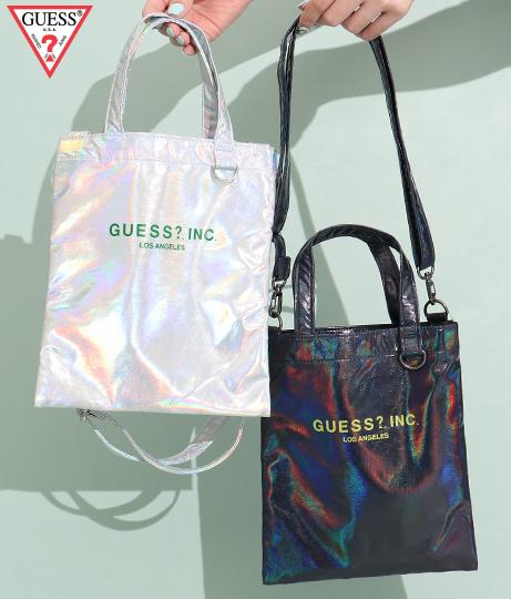GUESS TOTE BAG(バッグ・鞄・小物/ショルダーバッグ・トートバッグ) | GUESS